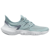 Nike Free RN 5.0 Women's Running Shoes (Ocean Cube/Mtlc Cool Grey/Pure Platinum)
