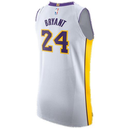 97511ebf20b Kobe Bryant Nike NBA Authentic Jersey - Mens - White (Fan Gear Other) photo