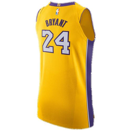 16fd89f68c28 Kobe Bryant Nike NBA Authentic Jersey - Mens - Amarillo (Fan Gear Other)  photo