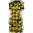 Nike Plaid Bodycon Dress - Women's