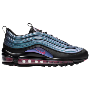 blue pink and black air max 97