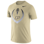 Nike College DF Cotton Football Icon T-Shirt - Men's