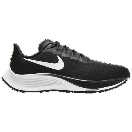 Nike Air Zoom Pegasus 37 Running Shoe In Black/white