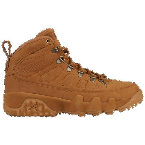 8b4b0874f77 Jordan Retro 9 NRG Boots - Mens - Wheat/Wheat/Baroque Brown (Shoes