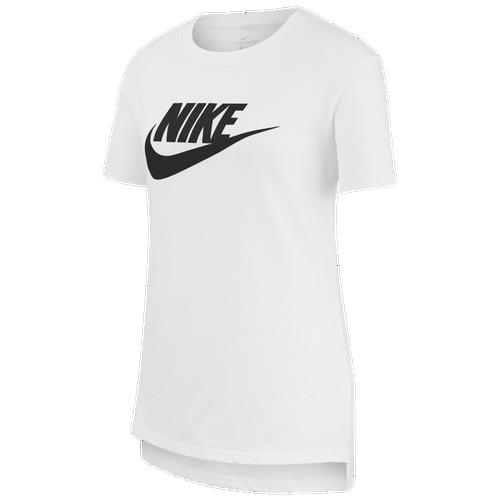 Nike Cottons GIRLS NIKE NSW BASIC FUTURA T-SHIRT