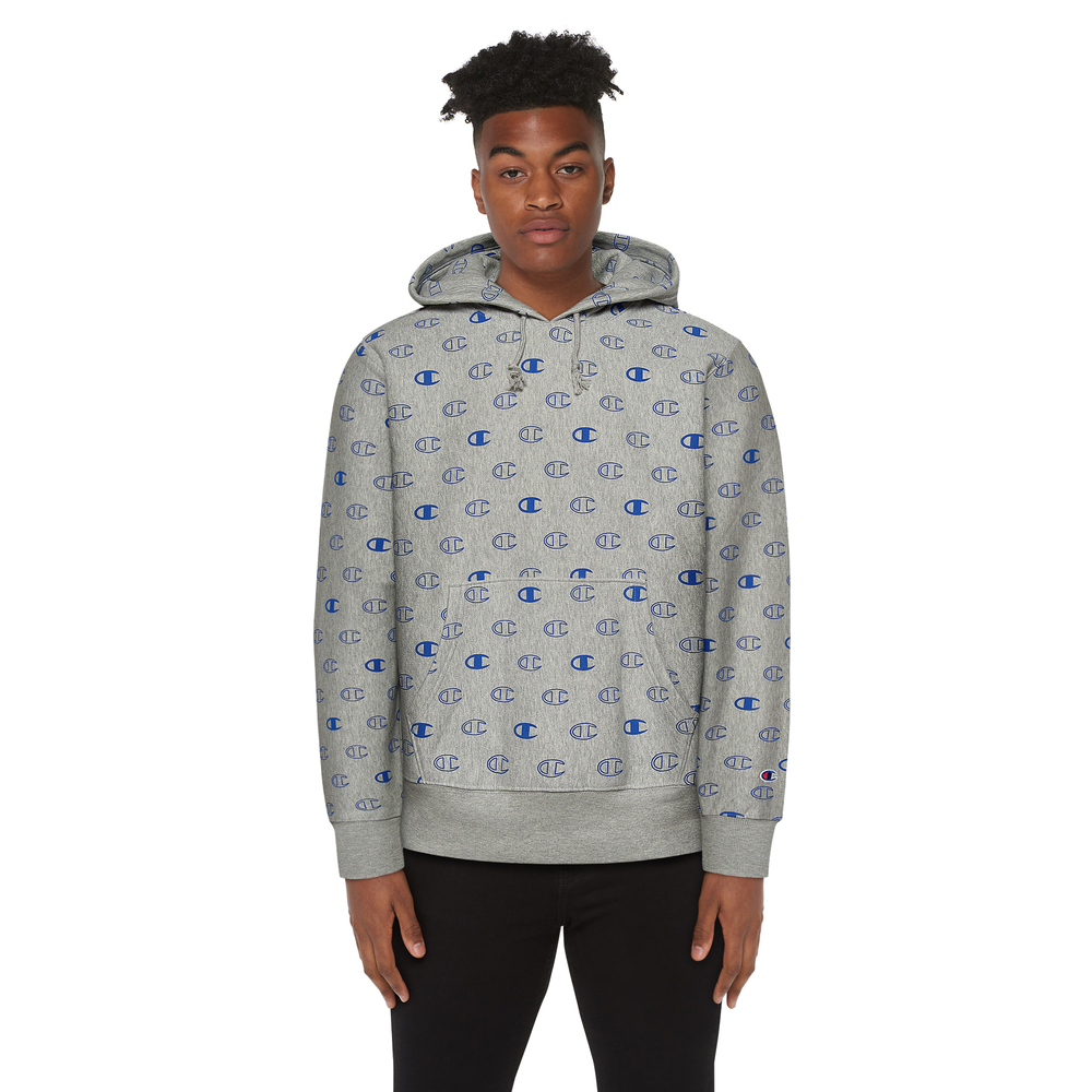 Champion Reverse Weave Pullover Hoodie - Mens / Oxford Grey