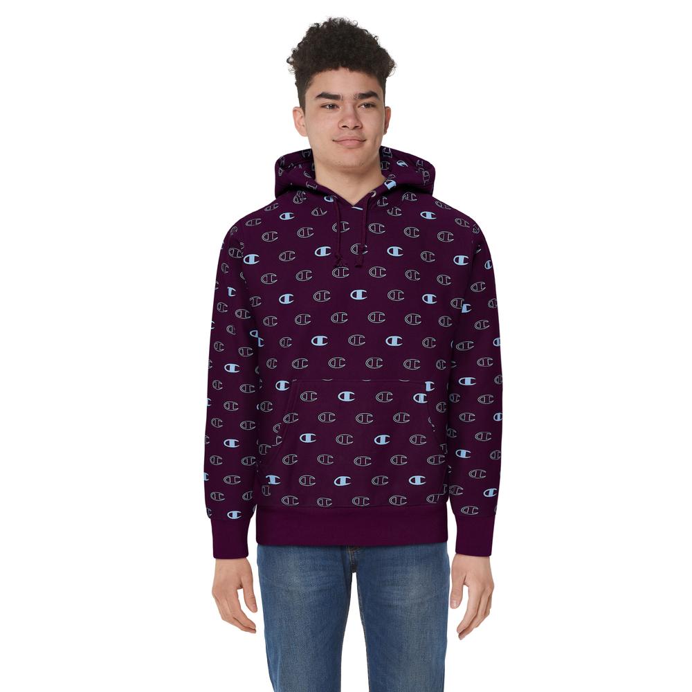 Champion Reverse Weave Pullover Hoodie - Mens / Venetian Purple