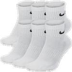 Nike 6 Pack Dri-FIT Cotton Quarter Socks - Men's