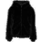 Blanc Noir Faux Fur Jacket - Women's