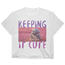 Keeping It Cute Crop T-Shirt - Women's