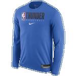 Nike NBA Graphic Practice L/S T-Shirt - Men's
