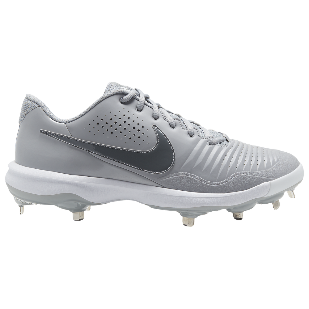 Nike Alpha Huarache Varsity 3 Low - Mens / Lt Smoke Grey/Smoke Grey/White