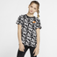 Nike Just Do It Printed T-Shirt - Girls' Grade School
