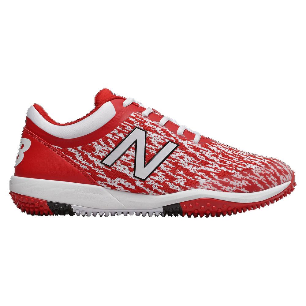 New Balance 4040v5 Turf - Mens / Red/White