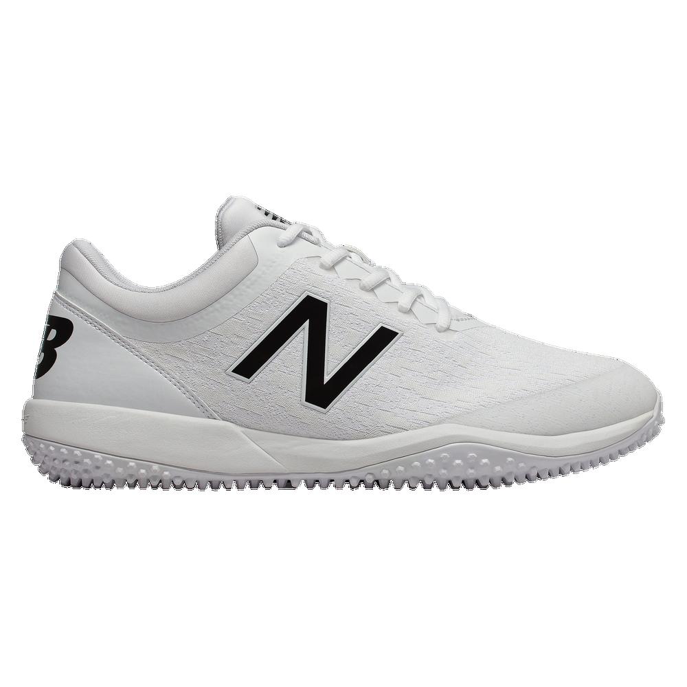 New Balance 4040v5 Turf - Mens / White/White