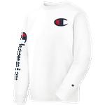 Champion Heritage Left Chest L/S T-Shirt - Men's