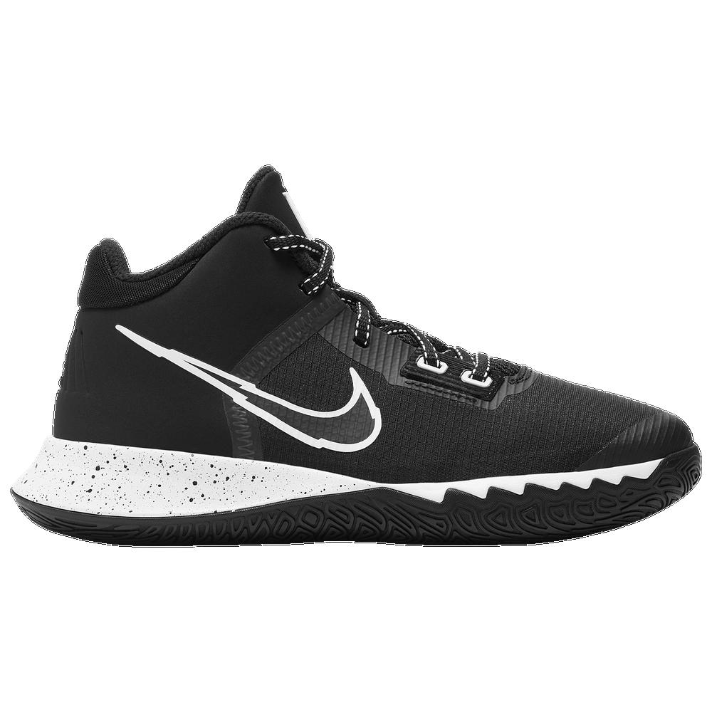 Nike Kyrie Flytrap IV - Boys Grade School / Black/White/Metallic Silver