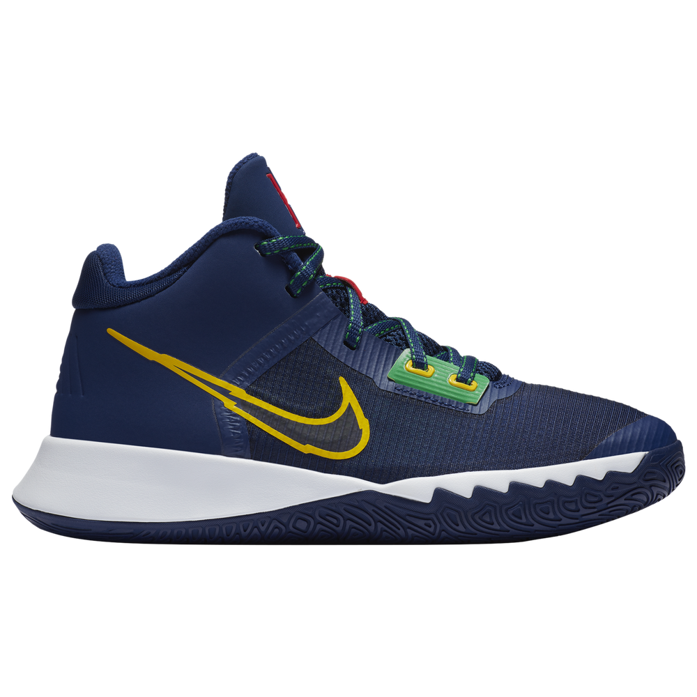 Nike Kyrie Flytrap IV - Boys Grade School / Blue Void/Speed Yellow/Deep Royal Blue