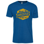 Cliff Keen Born to Wrestle Sueded Shirt - Men's
