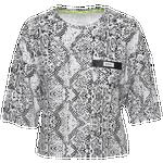 Dkny Snakeskin Crop T-Shirt - Women's
