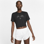 Nike Slim Crop Lux Pack T-Shirt - Women's