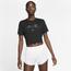Nike Slim Crop Lux Pack T-Shirt - Women's
