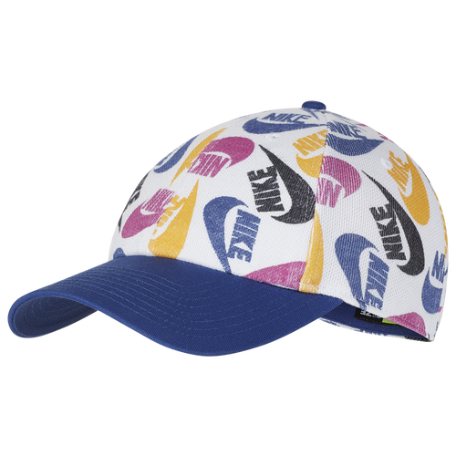Give your hat collection a fresh upgrade with Nike\\\'s H86 Futura Cap. Features an all-over Futura print. Backstrap closure lets you customize the fit. 66% cotton/34% polyester. Imported.