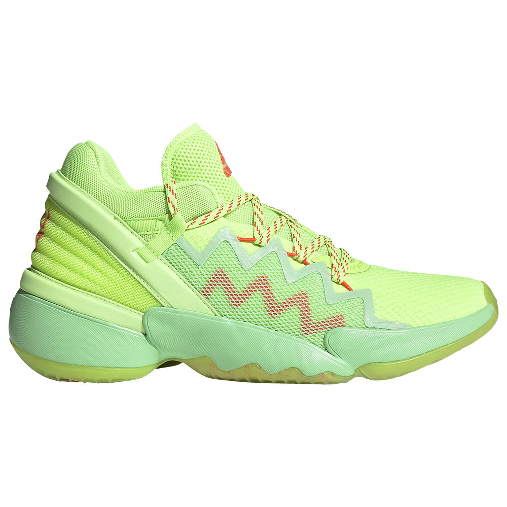 adidas D.O.N. Issue #2 - Boys Grade School / Donovan Mitchell | Glory Mint/Signal Green/Solar Red