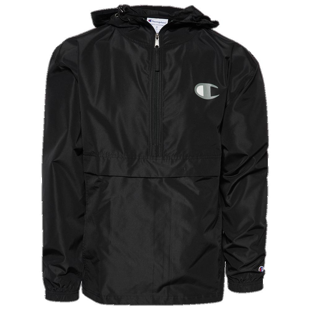 Champion Packable Jacket - Mens / Black