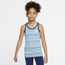 Nike Go Stripes Tank - Girls' Grade School