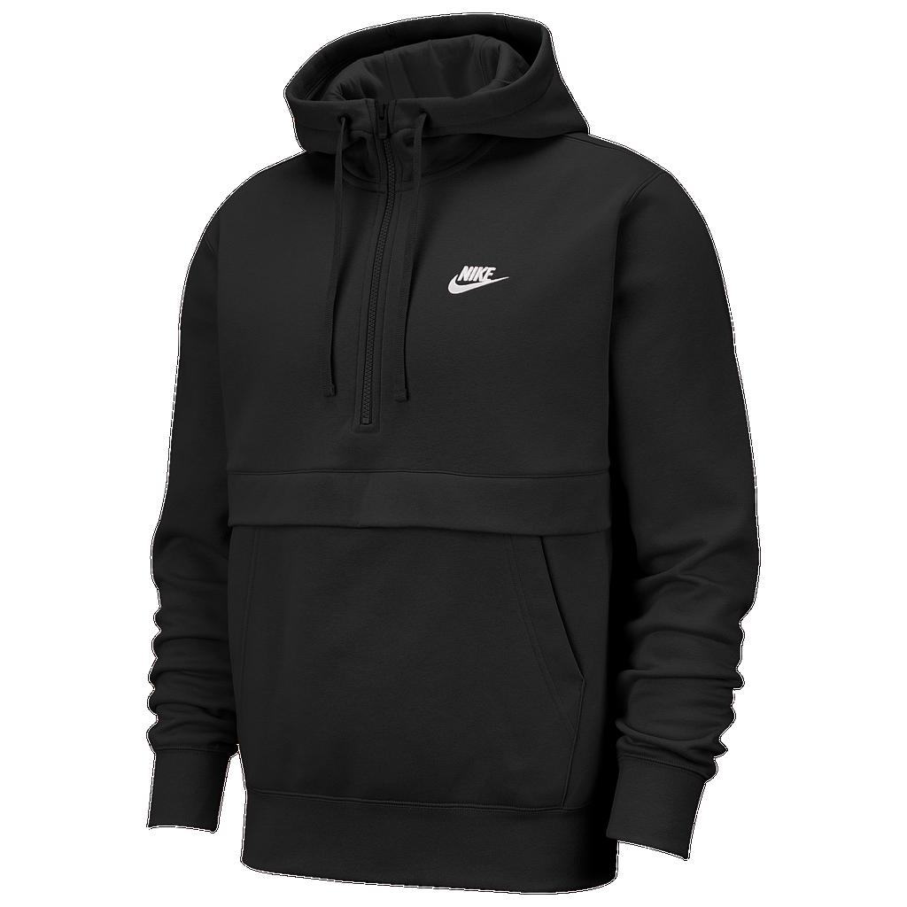 Nike Club Half Zip Hoodie by Eastbay