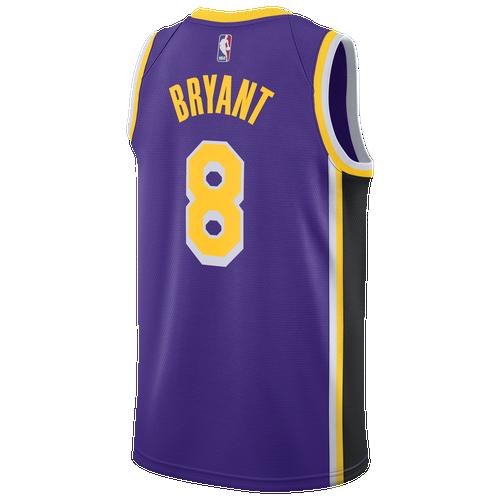 0631badf6 Kobe Bryant Nike NBA Swingman Jersey - Mens - Purple Yellow (Fan Gear Other