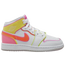 Jordan AJ 1 Mid Edge Glow - Girls' Grade School