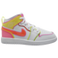 Jordan AJ 1 Mid Edge Glow - Girls' Preschool