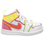 Jordan AJ 1 Mid Edge Glow - Girls' Toddler