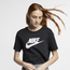 Nike Essential Crop Icon Futura T-Shirt - Women's