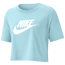 Nike Essential Crop Icon Futura T-Shirt - Women's