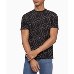Calvin Klein Jeans All Over Print Crew T-Shirts - Men's
