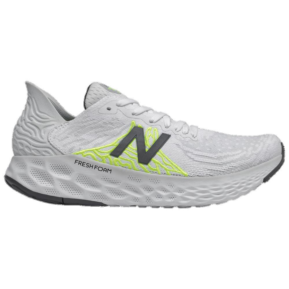 New Balance Fresh Foam 1080 V10 - Womens / Light Aluminum/White/Lime Glo