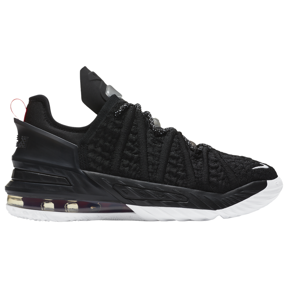 Nike LeBron 18 - Boys Grade School / Lebron James | Black/White/Red