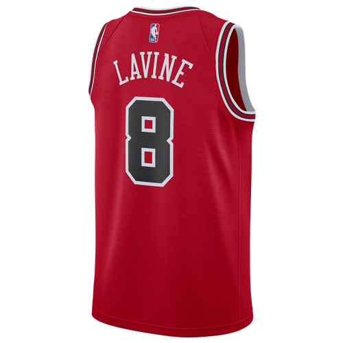 Nike Cottons MENS ZACH LAVINE NIKE NBA SWINGMAN JERSEY