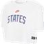 Nike Womens States Crop T-Shirt - Women's