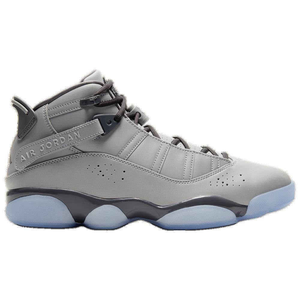 Jordan 6 Rings - Mens / Metallic Silver/Light Graphite/White