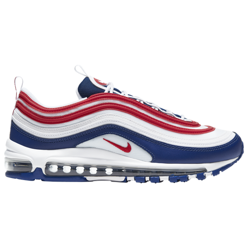 Air Max '97 In White/university Red/deep Royal