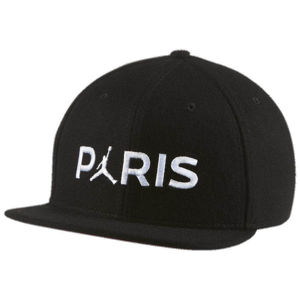 Jordan PSG Pro Hat - Mens / Black/Bordeaux/White