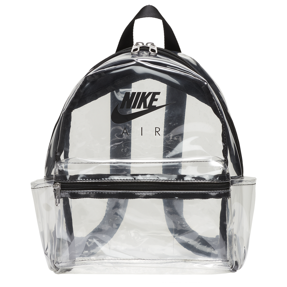 Nike Just Do It Mini Backpack - Youth / Clear/Black