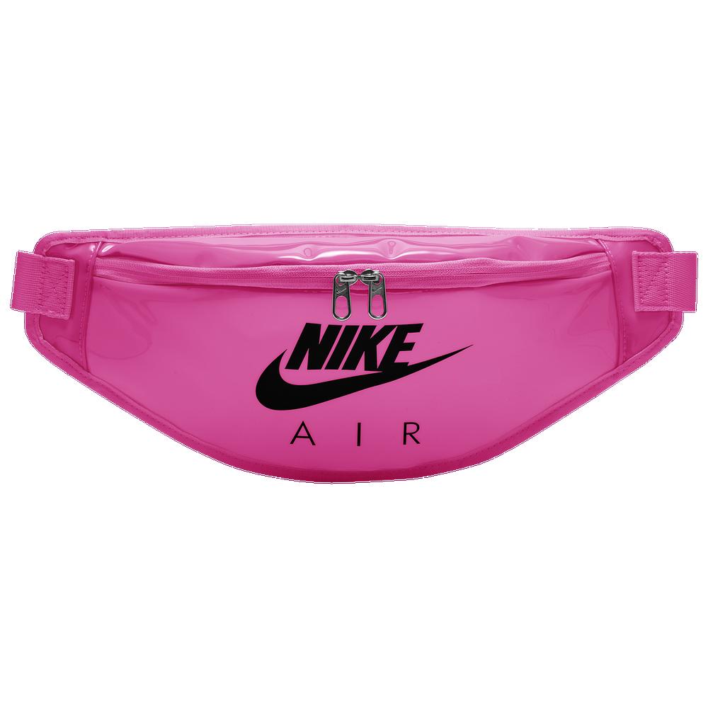 Nike Heritage Clear Hip Pack / Pink Blast/Black