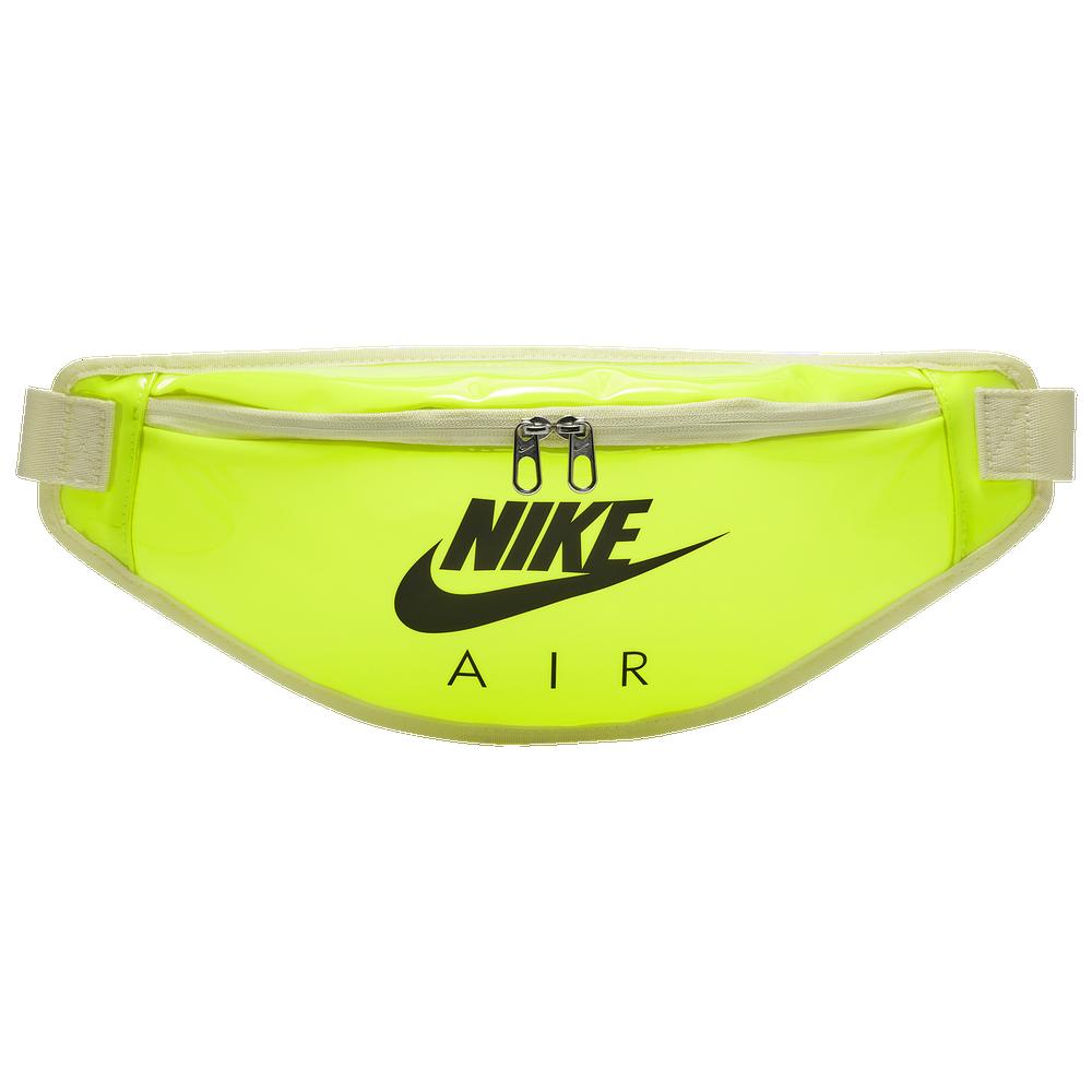 Nike Heritage Clear Hip Pack / Volt/Black