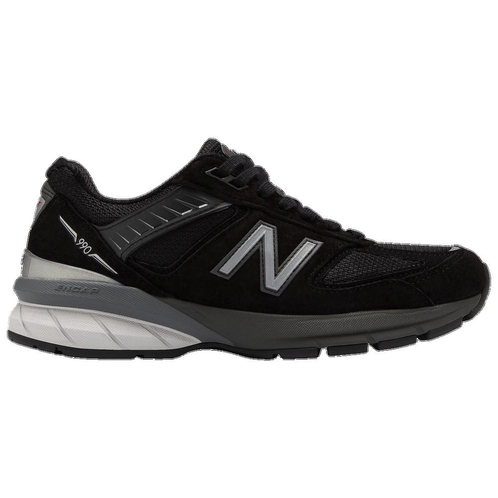 New Balance 990v5 - Womens / Black/Silver