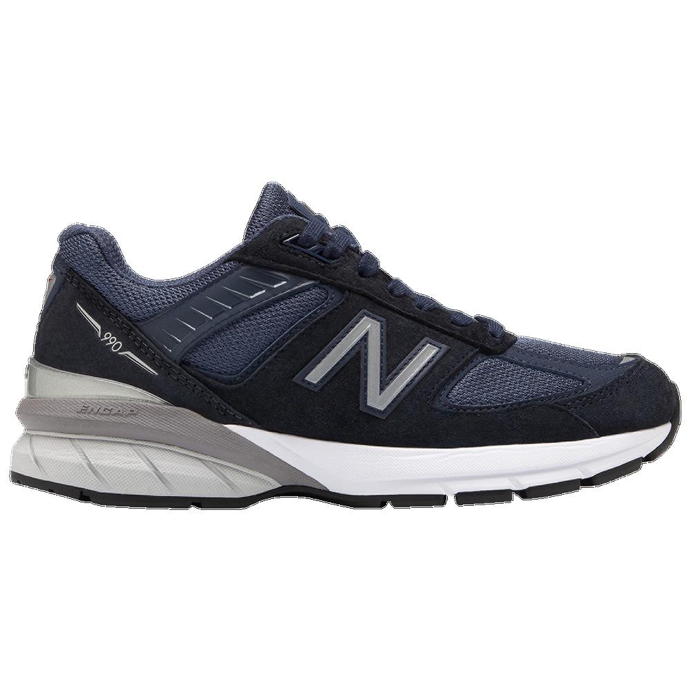 New Balance 990v5 - Womens / Navy/Silver